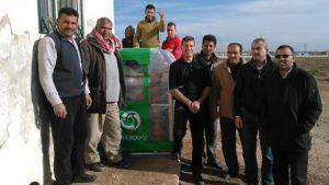 Green-tech - Homebiogas system in Jordan - Photo: T.H. Culhane